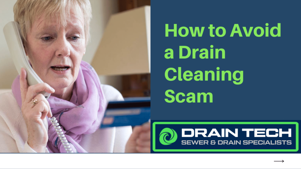 drain cleaning scam